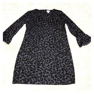 Old Navy Cheetah Print dress size M Tall